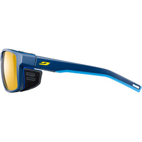 Julbo Shield Zebra Sunglasses Blue/Blue/Yellow-Yellow/Brown